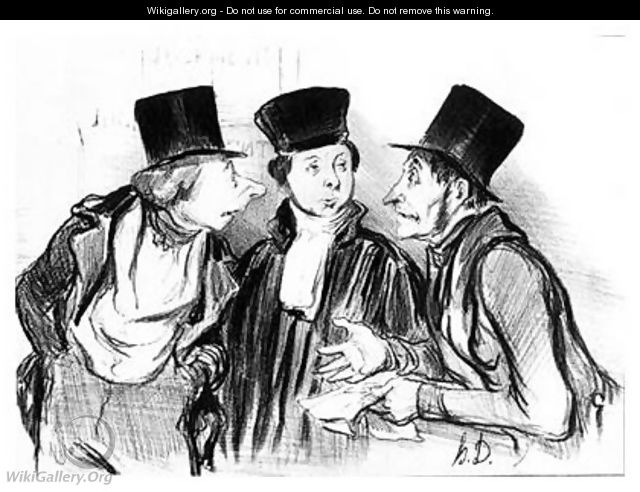 Daumier_Law-and-Justice