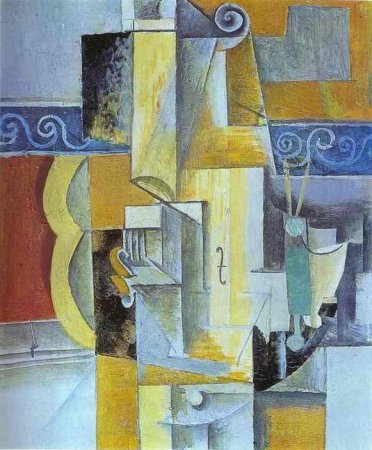 Violin and Guitar , Picasso