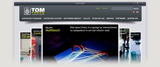 Dexign. Webdesign-TomTouch
