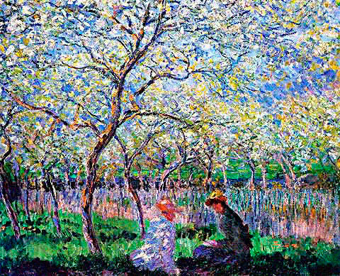 Essai de figure en plein air. Monet