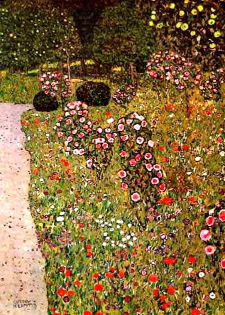 Gustav Klimt, Garden Roses