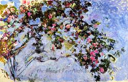 Monet Les Roses