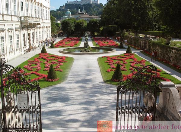 Salzburg-Gradinile-Mirabell