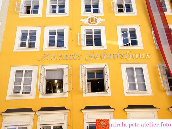 Salzburg-Casa Mozart