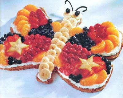Reţetă culinară - Prăjitură fluture