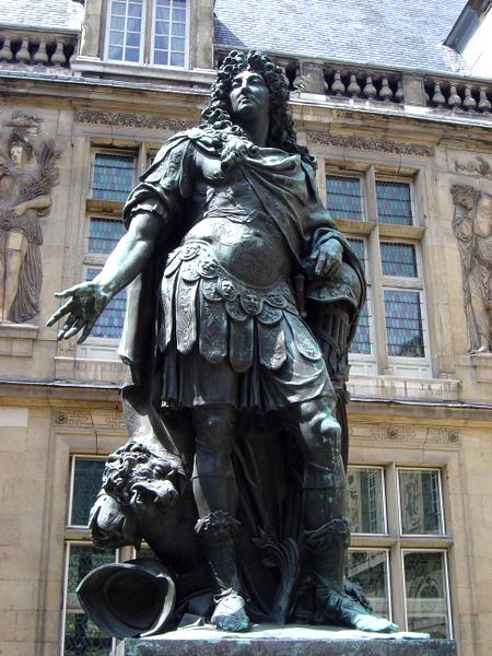 Louis XIV of France by Antoine Coysevox