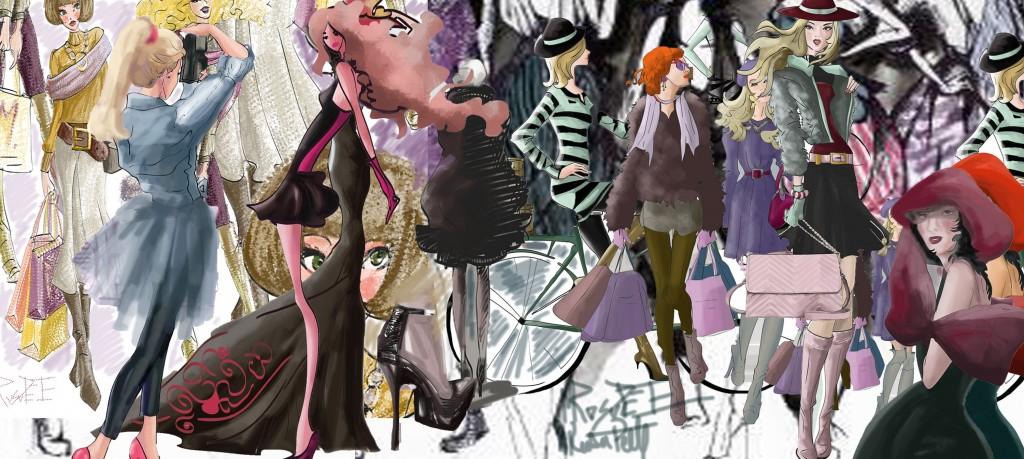 moda ilustratie de Mirela Rusu Pete