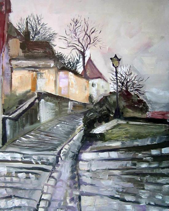 Enya Pete, Premiul II 2015, pictură