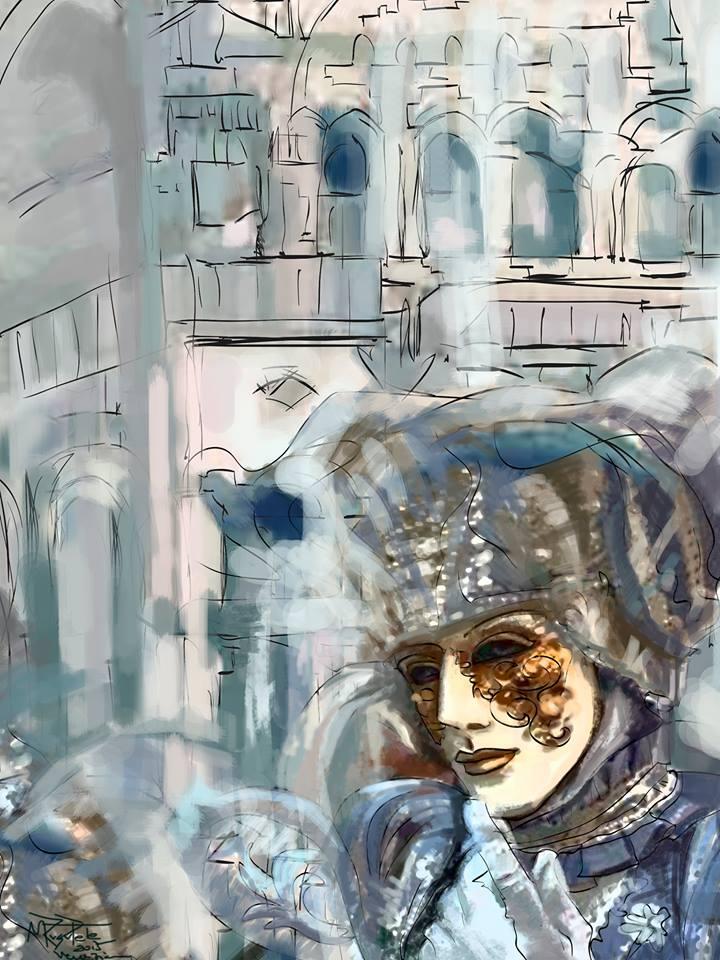 Masti venetiene I,  de Mirela Rusu Pete