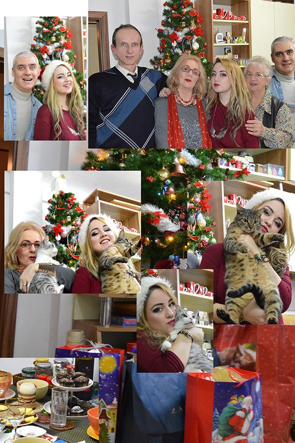 Crăciun în familie, cu Enya, Alexandrina Italina, Lucian si Xabi Csaba, plus Picky si Odin! :P
