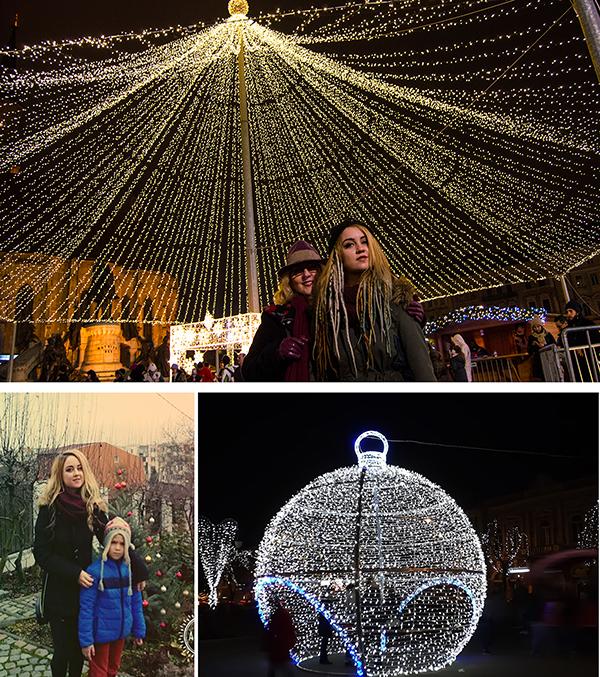 Două orașe de Crăciun! Cluj Napoca și Târgu Mureș, în sărbătoare!