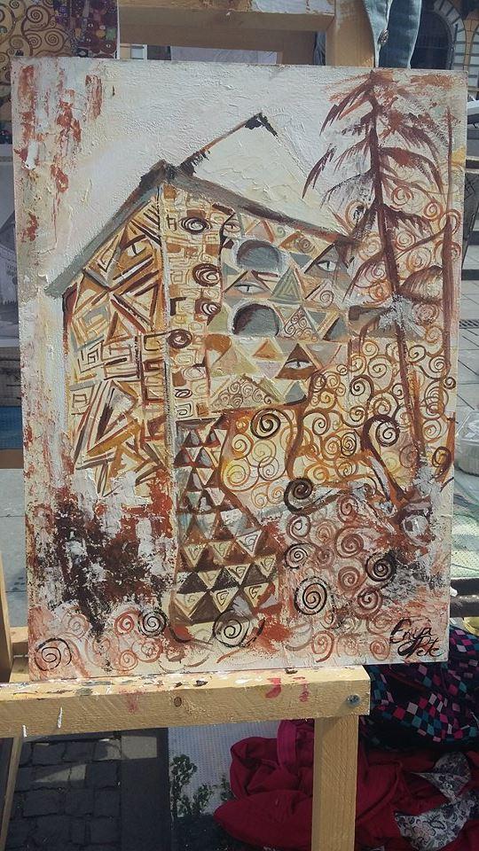 Civic Art 2016, Liceul de Arte Vizuale Romul Ladea, Cluj-Napoca, lucrare de Enya Pete, XI B