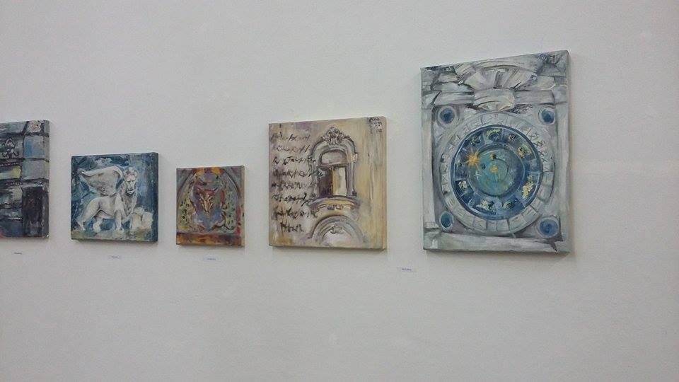 Enya Pete, picturi in ulei, Scene venetiene
