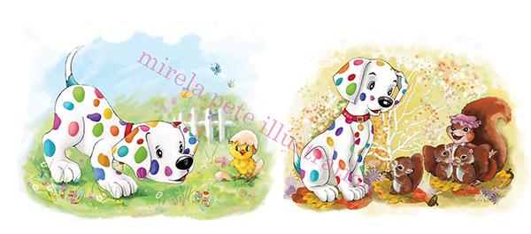 Ilustrații de Mirela Pete