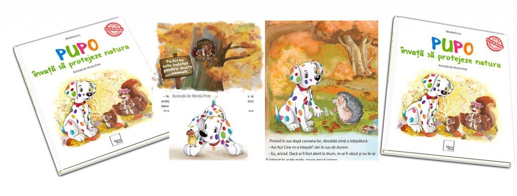 Pupo. Ilustrații de artista Mirela Pete