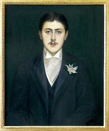 Portretul lui Marcel Proust în 1892 de Jacques-Emile Blanche
